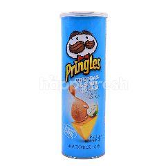 Pringles Cheddar & Sour Cream Flavored Potato Crisps