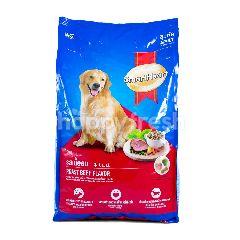 Smart Heart Makanan Anjing Rasa Daging Sapi Panggang