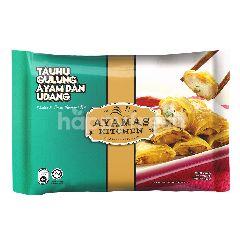 Ayamas Kitchen Chicken And Prawn Beancurd Roll 8pcs