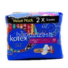 Kotex Sanitary Pads (Pack Of 2)