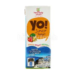 Heavenly Blush Yo! Minuman Yogurt Pisang Aneka Beri dan Brokoli