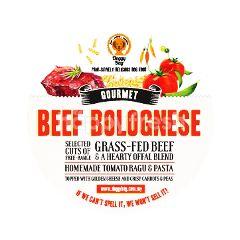 Doggy Bag Beef Bolognese Dog Food 1kg
