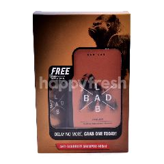 Bad Lab Anti Dandruff Shampoo With Energising Facial Cleanser Bundle