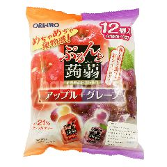 Orihiro Jeli Konnyaku Rasa Apel dan Anggur