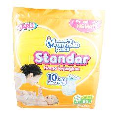 MamyPoko Popok Bayi Standar Ukuran S untuk Bayi dengan Berat 4-8kg