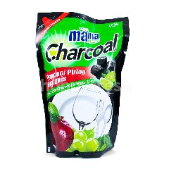 Mama Lime Cairan Pencuci Piring Charcoal
