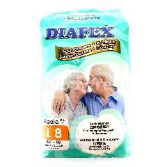 Diapex Basic L8 Unisex Adult Diapers