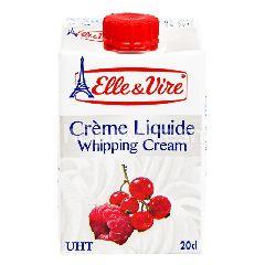 Elle & Vire Whipping Cream 200 ml