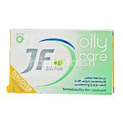 JF Sulfur Sabun Batang Wajah Berminyak