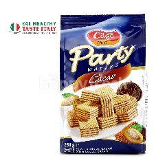 ELLEDI Party Wafers Cocoa