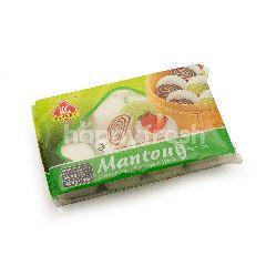 KG Pastry Mantou Pandan Oriental Bun