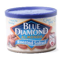 BLUE Diamonds Almonds Roasted Salted Almonds
