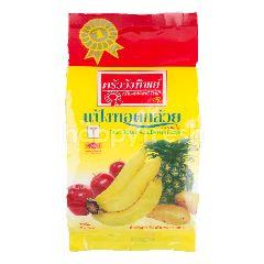 ครัววังทิพย์ แป้งทอดกล้วย ผักและผลไม้