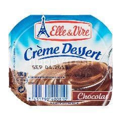 Elle & Vire Crème Dessert Cokelat