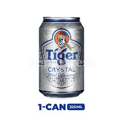 Tiger Crystal Lager Beer Can 320ml