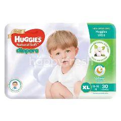 Huggies Natural Soft Diapers (XL30)