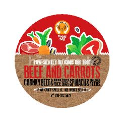 Doggy Bag Beef & Carrots Dog Food 500g
