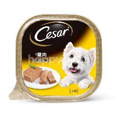 Cesar Dog Food Adult Chicken 100G Dog Wet Food