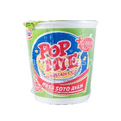 Pop Mie Chicken Soto Instant Cup Noodle