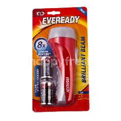 Eveready Brilliant BeamWith D Battery (2 Pieces)