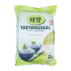 Taeyangssal Beras Bulir Kecil Alami