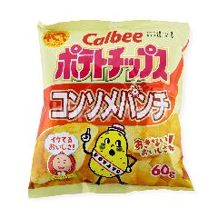 Calbee Potato Chips Consomme Punch