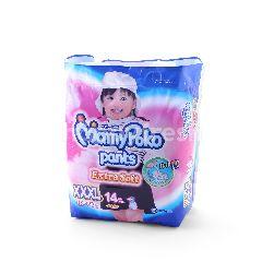 Mamy Poko Pants Extra Soft For Girls Size XXXL (14 Pieces)
