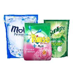 Unilever Rinso, Molto, Sunlight Paket Rumah Bersih 2