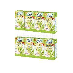 ดีน่า (แพ็คคู่) นมถั่วเหลือง ยูเอชที กาบา สูตรผสมจมูกข้าวญี่ปุ่น 110 มล. X 4 กล่อง
