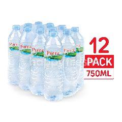 เพอร์ร่า น้ำแร่ธรรมชาติ 750 มล. (แพ็ค 12)