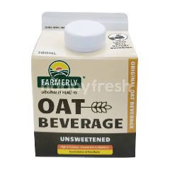 Farmerly Unsweetened Oat Drink Original 300ml