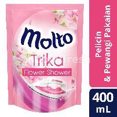 Molto Trika Pelicin dan Pewangi Pakaian Aroma Flower Shower