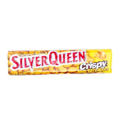 Silver Queen Cokelat dengan Butiran Krispi