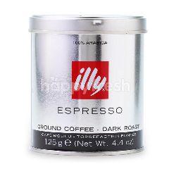 Illy Espresso Ground Coffee - Dark Roast