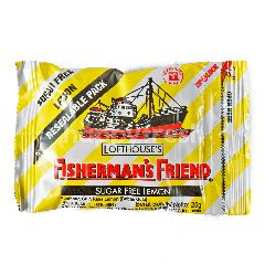 Fisherman's Friend Permen Bebas Gula Lemon