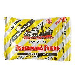 Fisherman's Friend Permen Bebas Gula Lemon