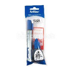 ARTLINE Spidol E 107R dengan Tinta Isi Ulang 20R