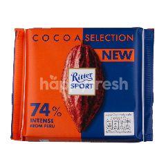 ริทเตอร์สปอร์ต ช็อกโกแลต โกโก้ ซีเล็คชั่น 74 เปอร์เซ็นต์