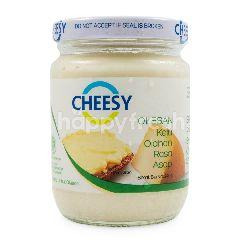 Cheesy Olesan Keju Cheddar Rasa Keju Asap