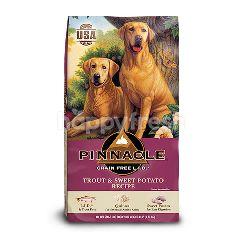 พินนาเคิล อาหารสุนัขชนิดเม็ด สูตรปลาเทราต์และมันฝรั่งหวาน 5.4 กก.
