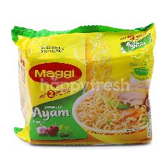 Maggi 2 Minute Instant Noodles Chicken Flavour (5x77G)