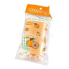 แชมป์เปี้ยน ถุงขยะ 18 X 20 กลิ่นส้ม