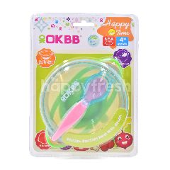 OKBB Stylish Suction Bowl With Spoon