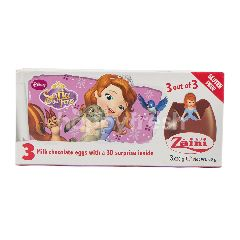Zaini Cokelat Susu Edisi Disney Sofia The First Edition