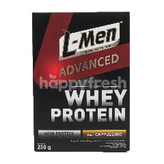 L-Men Advanced Susu Formula Whey Protein Rasa Cappuccino