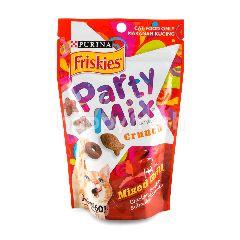 Purina Friskies Party Mix Cat Treats Crunch Mixed Grill