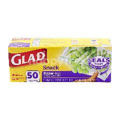Glad Snack Zipper Bag (50 Bags)