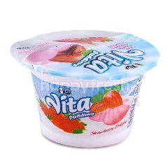 Vita Puding Stroberi Delights