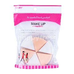 Trendy Spons Makeup Segi Tiga dalam Kotak TD-618