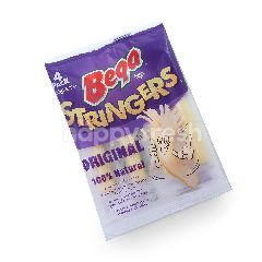Bega Stringers Original Mozzarella Cheese (4 Pieces)